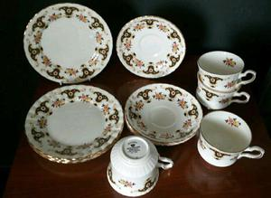 Royal stafford Balmoral bone china 12 piece tea set