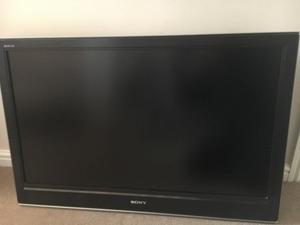 "Sony Bravia KDL-40D"" widescreen HD ready TV with freeview"