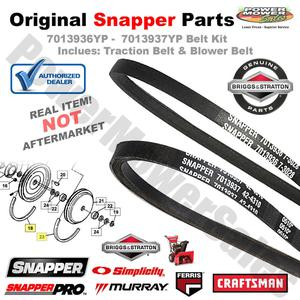 Traction V-Belt Kit / Briggs & Stratton Engines, Snapper