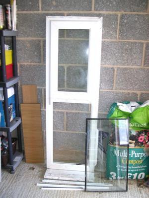 White PVC Window 54.5ins x  ins