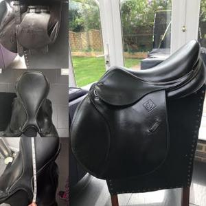 John Whittaker Junior Jumping Saddle 16""