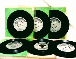 MONSTER HITS SINGLES GARY GLITTER RECORDS LOT