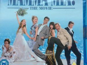 Mamma Mia Blu ray