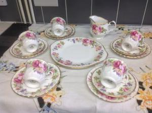 Royal Stafford Fine Bone China Tea Set