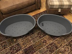 2 x new large dog beds for sale