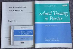 ABRSM Aural Training in Practice Book III Grade 6-8 inc CDs