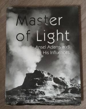 Ansel Adams Master of Light Hardback book
