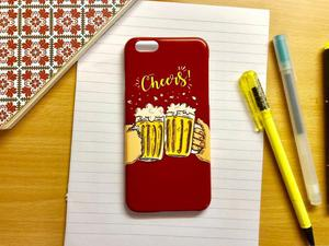 Beer iPhone case (iPhone 6/6s, iPhone 7, iPhone 8)