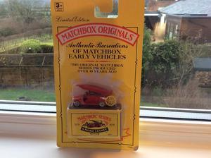 Boxed Matchbox Originals Fire Engine