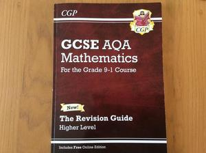 CGP GCSE AQA Mathematics revision guide higher level