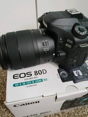Canon 80D with mm is usm like brand new
