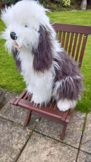 DULUX DOG/BEARDED COLLIE TYPE TOY