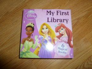 Disney Princess Library 6 BOOKS by Parragon Book Service Ltd