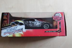 Fast and Furious  Nissan 350z 1:18 scale