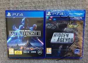 PS4 Star Wars battlefront 2 + Hidden Agenda