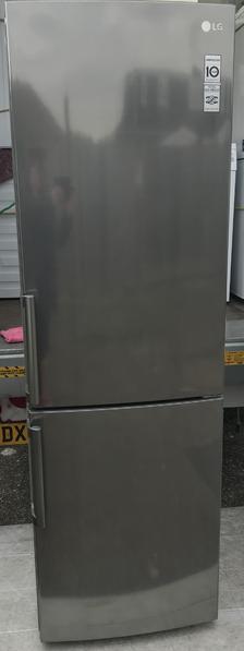 LG premium steel A++ frost free fridge freezer free delivery