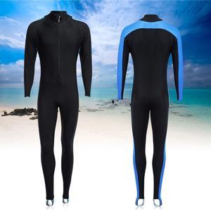 Mens Ladies Stretch Full Wetsuit Surf Swim Diving Long