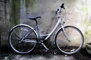 RALEIGH PIONEER METRO. 18 inch, 46 cm. Ladies womens hybrid road bike, 18 speed, loop frame