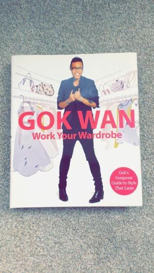 BRAND NEW GOK WAN WORK YOUR WARDROBE BOOK