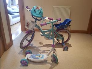 Bike scooter and helmet. I can deliver in Leeds