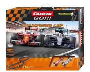 Carrera Go !!! Champions Lap F1 Merc/Ferrar Part#