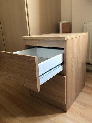 bedside table from ikea excellent condition posot class. Black Bedroom Furniture Sets. Home Design Ideas