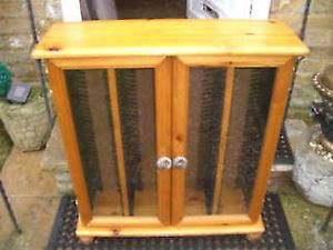 LARGE WOODEN CD CABiNET - CLACTON ON SEA - CO15 6AJ