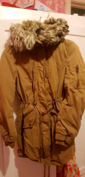 Ladies coat h&m size 12. Never worn.