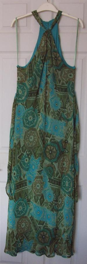 Ladies long dress with tie detail by south - sz 18 B24