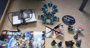 Lego dimensions ps3 starter kit and back to the future level pack