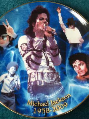 Michael Jackson' plate