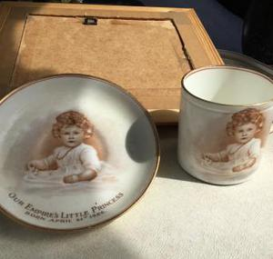 Our Empires Little Princess cup and saucer 's