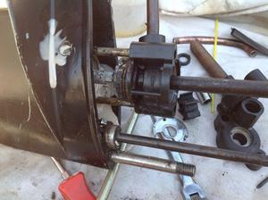 Outboard engine serviced boat repair Bexley Marine