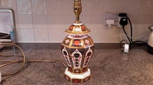 ROYAL CROWN DERBY TABLE LAMP IMARI ST QUALITY