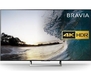 "Sony BRAVIA 49"" Smart 4K Ultra HD HDR LED TV Home Cinema, TV"