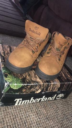 Tan timberland boots