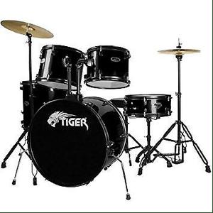 Tiger acoustic drum kit