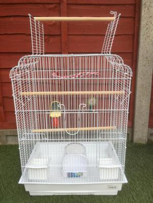 Top opening Bird cage for sale (budgie/canary/Finch)
