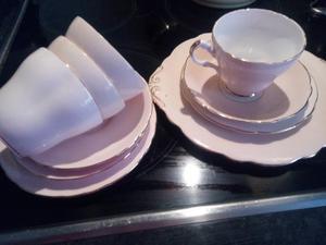 Vintage cups,saucers,tea plate