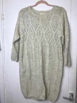 Womens long knit papaya dress jumper