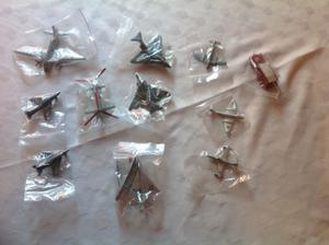 SMALL COLLECTION OF UNBOXED VINTAGE DINKY TOY AEROPLANES