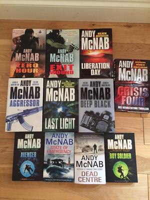 11 ANDY McNAB books