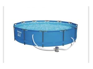 Bestway 12ft swimming pool with filter in Gosport