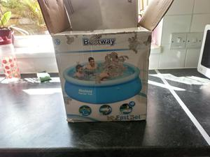 Bestway fast set paddling pool. 8 foot. New with box.