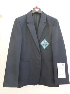 Brand New QE Queen Elizabeth School Uniform Girls Blazer Navy Tudor House Logo School Trends