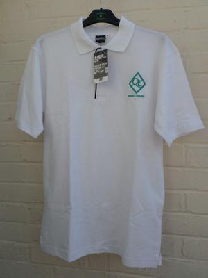 Brand New Queen Elizabeth QE School Uniform Girls PE Polo Shirt Tudor House Size M School Trends