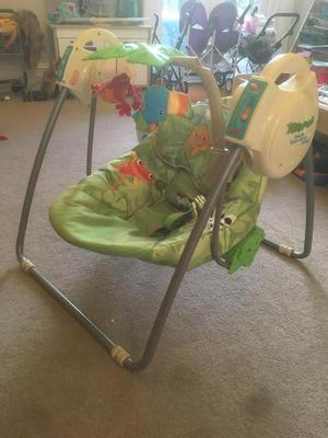 Fisher Price Rainforest Take-Along Swing