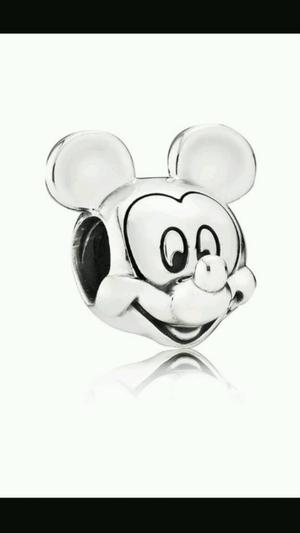 Genuine Micky mouse and Minnie mouse pandora charms