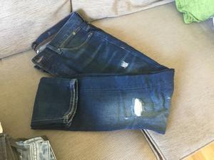 Men's river island jeans size 34 x 32