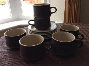 Purbeck pottery tea set